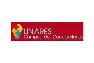 Logotipo de campus del conocimiento en linares 2016