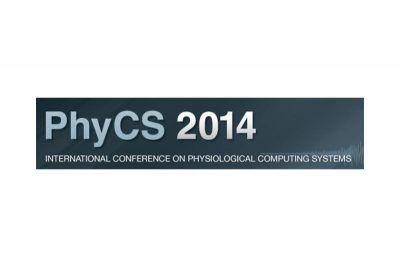 Logotipo de la conferencia internacional PhyCS 2014