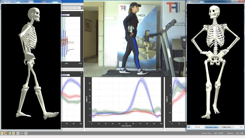 Motion Capture Software | Technaid - Leading Motion