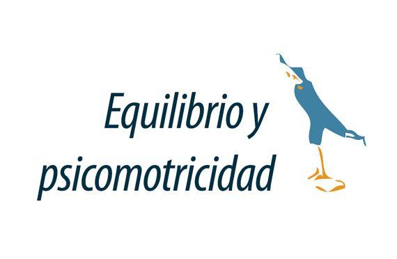 Equilibrio y psicomotricidad logotipo