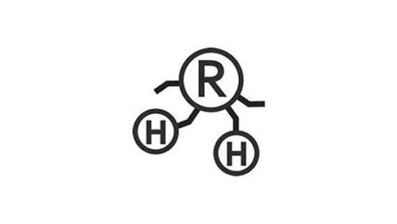 "H""R logotipo"