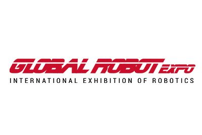 Logotipo de la exposición Global Robot
