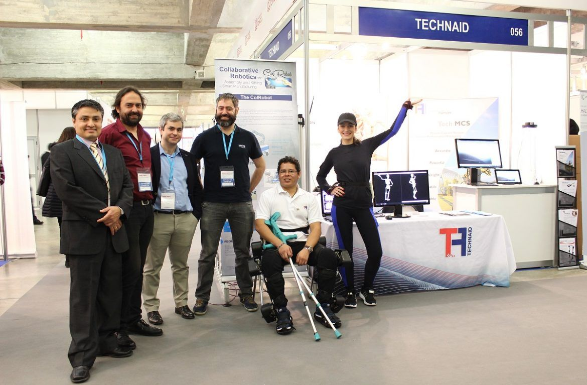 Technaid staff and our collaborators Guillermo, Miguel Ángel and Laura.