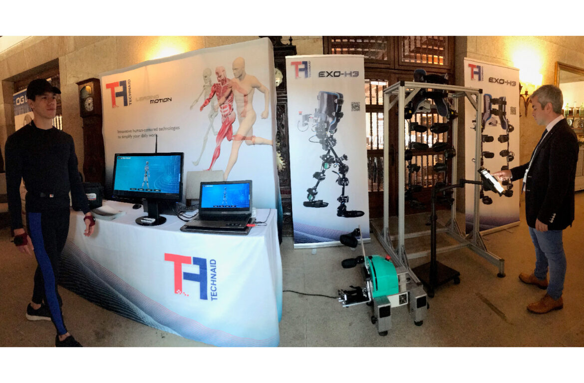 Technaid Stand with neuro rehabilitation products