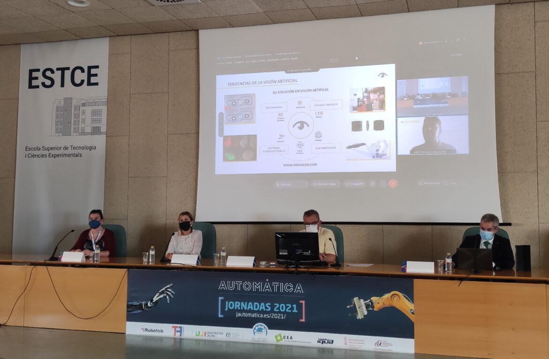 Company presentation at XLII Jornadas de Automática